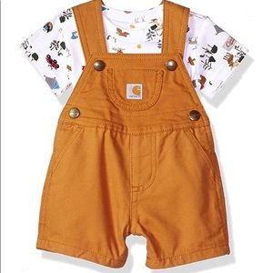 Toddler size Carhartt overall set
